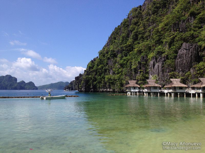 Miniloc Island Resort's water cottages (Miniloc Island, El Nido)