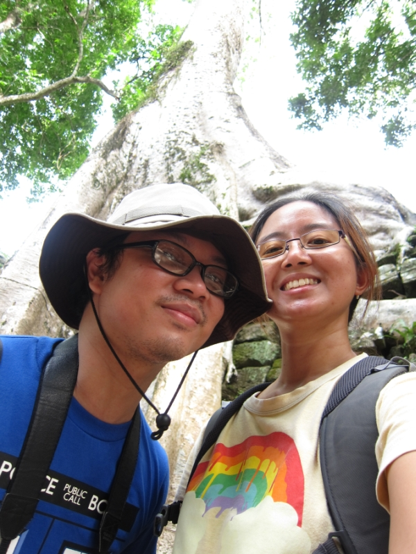 09 Sept 03 Ta Phrom Aids