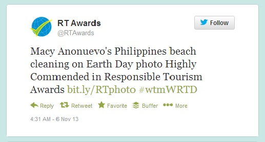 11 Nov RT awards tweet