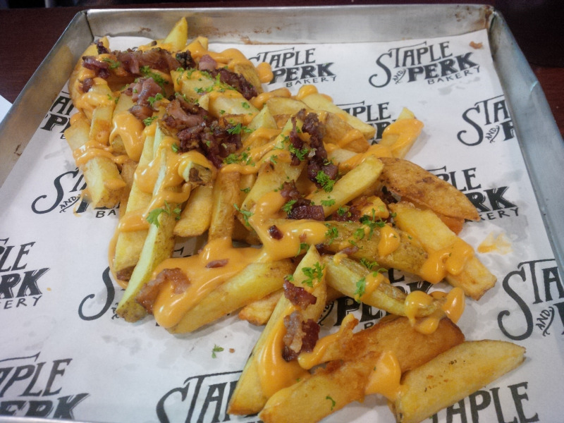 staple and perk - french fries