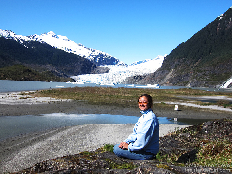 04 me in front of mendenhall glacier