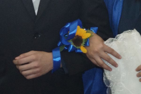 corsage destroyed